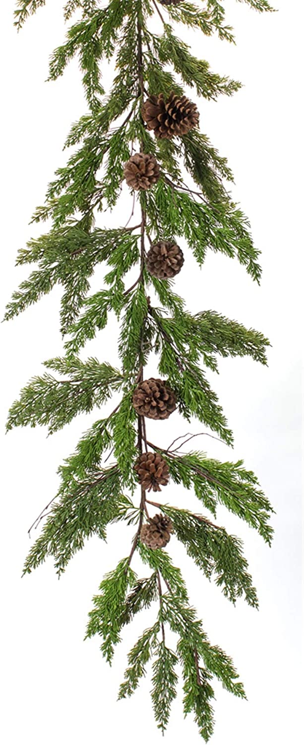 Melrose Pine Super intense SALE latest and Cone Garland of 2 6'L Plastic Set