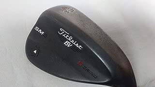 Titleist Vokey SM6 Jet Black Wedge Right 58 10 S Grind True Temper Dynamic Gold Steel Wedge