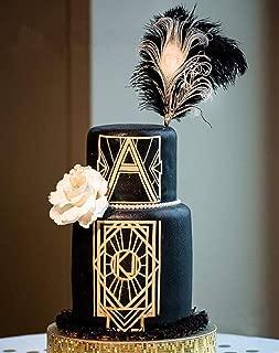 Best gatsby cake topper Reviews