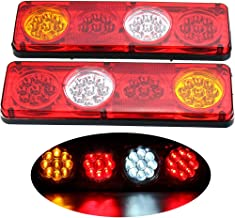 HEHEMM Lampe de travail /à LED COB 115/cm 144/W lampe d/'avertissement stroboscopique feux d/'urgence pour d/épanneuse barre lumineuse balise lumineuse