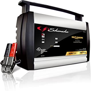 Schumacher SC1358 6/12V Fully Automatic Battery Charger and 10A Maintainer