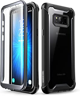 i-Blason Case for Galaxy S8+ Plus 2017 Release, Ares Full-Body Rugged Clear Bumper Case with Built-in Screen Protector for...