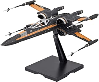 Bandai Hobby Poe's Boosted X-Wing Star Wars, Bandai Star Wars 1/72 Plastic Model Hobby Space Ship