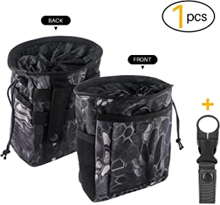 Drawstring Highend Rock Climbing Chalk Bag with a Carabiner Different Pockets for Climbing Bouldering, Gymnastics, Gym Pouch, Cross Fit and Lifting