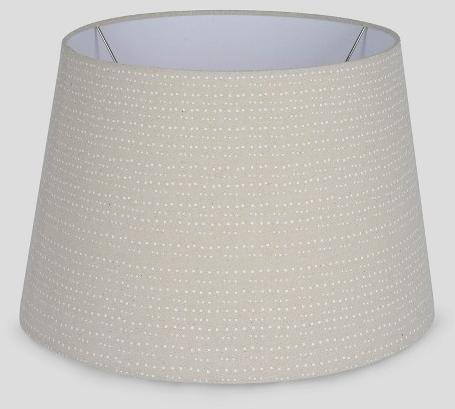 Linen Dot Drum Lampshade - Threshold™ : Target
