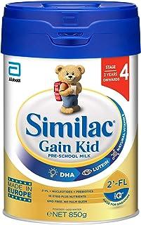 Abbott Similac Gain 2'-FL Stage 4 Kid Milk Formula, 3 years onwards, 850g