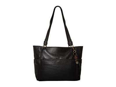 The Sak Sequoia Tote (Black) Handbags