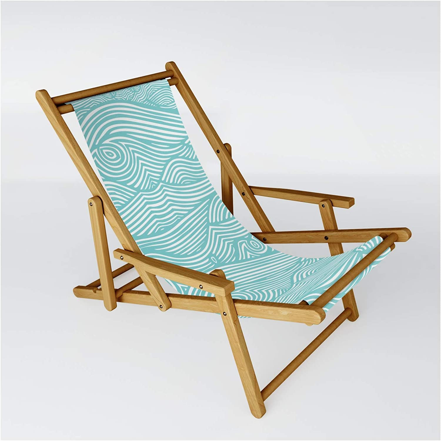 Society6 Waves Shipping OFFicial site included by Julene Jorgensen on Size One Sling - Chair