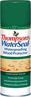 Thompson's Water Seal TH.041800-18 Wood Protector-Clear Aerosol Waterproofer