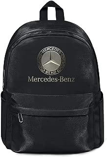 Travel Laptop Backpack for Womens Men Mercedes-Benz-logo- Bag Designer Book Bags
