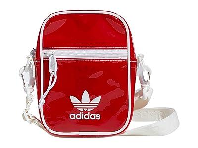 adidas Originals Originals Tinted Festival Crossbody (Lush Red/White) Handbags