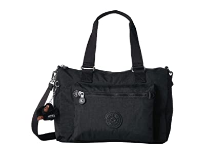 Kipling Lyanne Crossbody (Black) Handbags