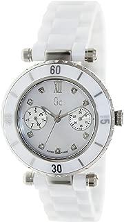GC Diver Chic Diamond White Ceramic Ladies Watch G46003L1