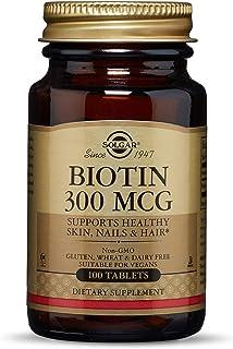Solgar Biotina 300 µg Comprimidos - Envase de 100