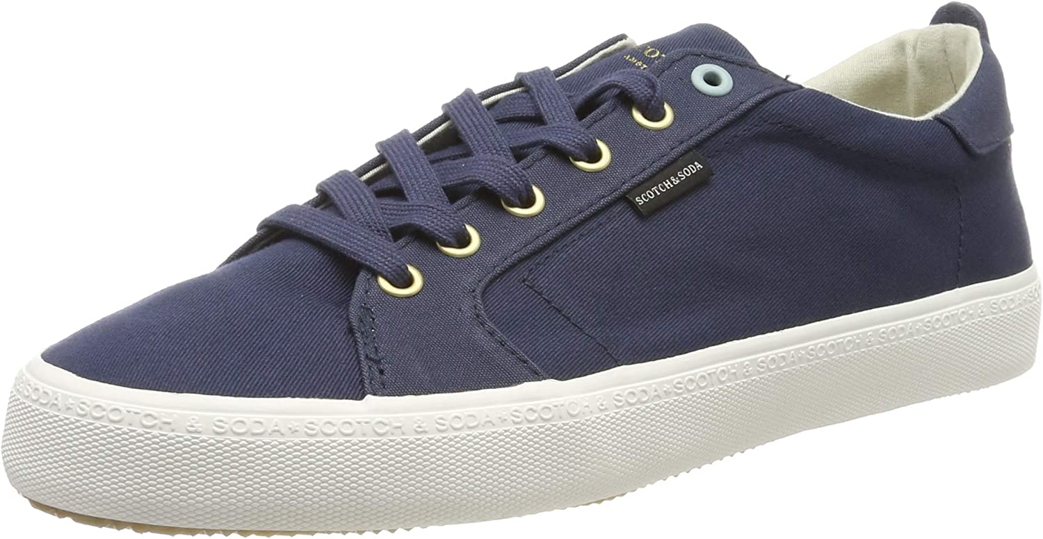 SCOTCH & SODA FOOTWEAR Herren Herren Herren Abra Turnschuhe, Blau (Blau Night S68), 45 EU 1dace6