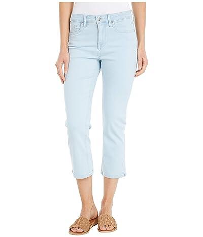 NYDJ Chloe Capri Jeans with Raw Cuffs in Valhalla (Valhalla) Women