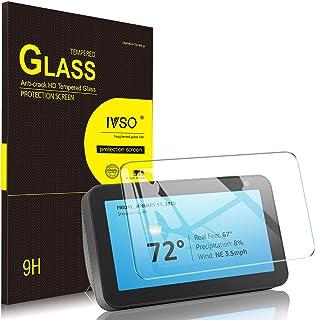 IVSO Echo Show 5 ガラスフィルム 5.5インチ スピーカー エコーショー5 保護フィルム 飛散防止処理 日本旭硝子製 耐衝撃 気泡ゼロ 9H硬度 高透過率 画面保護 Amazon Echo Show(5nd) ガラスフィルム