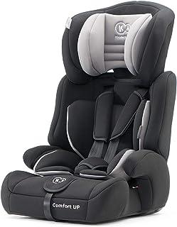 Kinderkraft Kinderautositz COMFORT UP, Autokindersitz, Autositz, Kindersitz, Gruppe 1/2/3 9-36kg, 3-Punkt-Sicherheitsgurt, Einstellbare Kopfstütze, ECE R44/04, Schwarz
