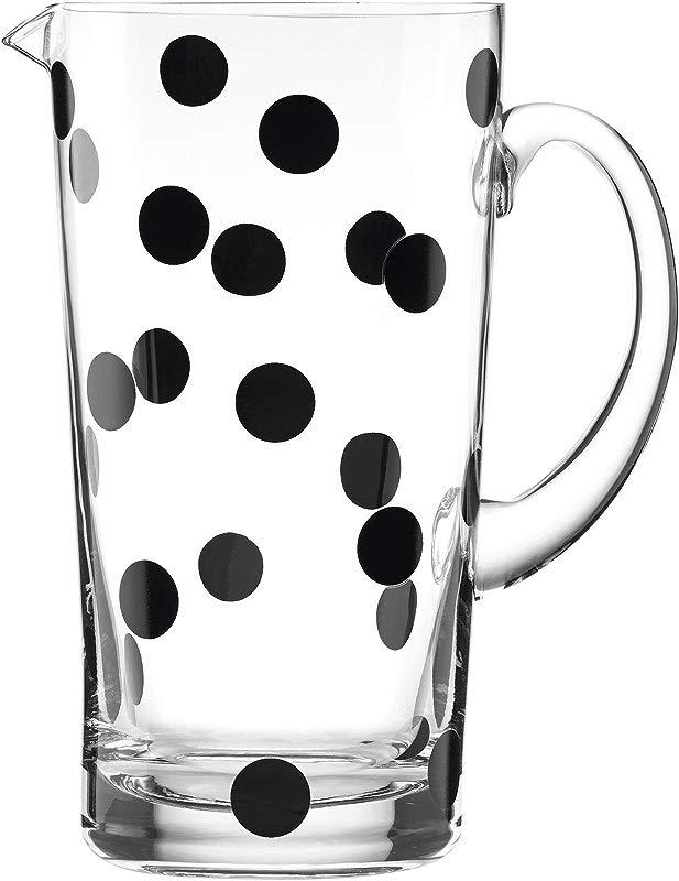 Kate Spade New York 857014 Deco Dot Glass Pitcher