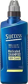 サクセス 薬用シャンプー エクストラクール 本体 400ml [医薬部外品] アブラ ワックス ニオイ 一発洗浄 アクアシトラスの香り 400ミリリットル (x 1)