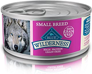 Blue Buffalo Wilderness High Protein Grain Free, Natural Adult Wet Dog Food Small Breed Turkey & Chicken Grill