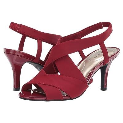 Bandolino Molvena (Red/Red Fabric) Women