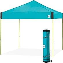 E-Z UP Pyramid Instant Shelter Canopy, 10 by 10', Splash