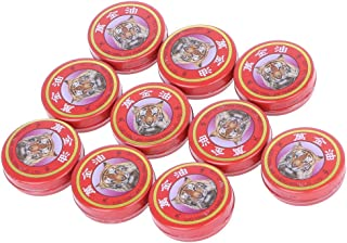 comprar comparacion PENG 10pcs / Lot Summer Cooling Oil Refresh Brain Tiger Balm Expulsar Mosquito