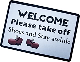 Custom Door Mats Funny Words Take Your Shoes Off Please Indoor/Outdoor Doormat Indoor/Outdoors Decor Mat Rugs Custom Door ...