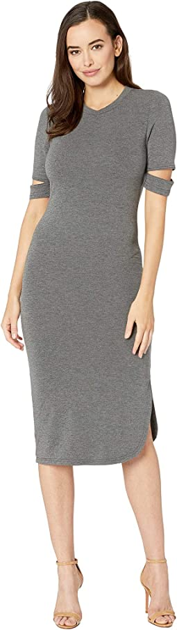 Quinn Luxe French Terry Midi Dress