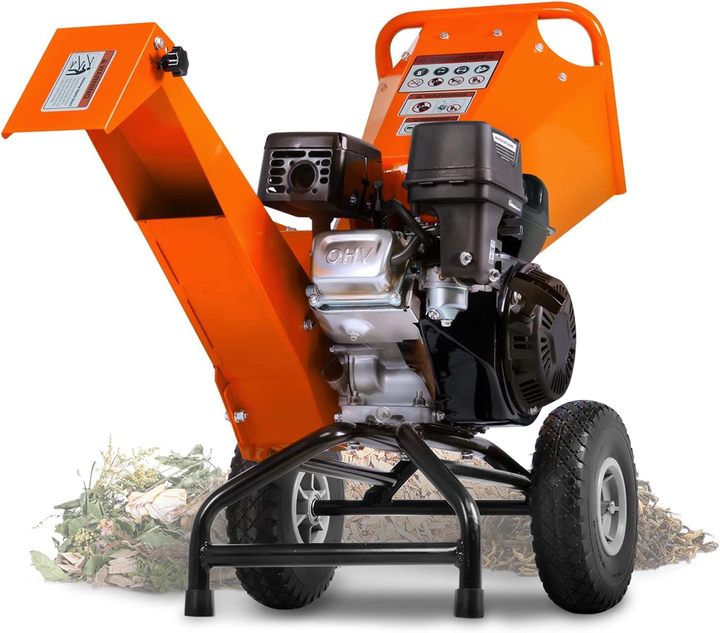 Dallas Mall SuperHandy Wood Chipper Shredder Mulcher Duty 7HP Heavy Houston Mall C Engine