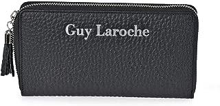 Guy Laroche Women's Leather Wallet with Zip 7240, Black (Black) - 7240