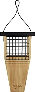 Nature's Way Bird Products CWF1 Cedar Suet Cake Feeder, 14