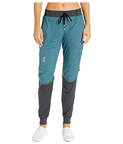 On Running Pants (Black/Storm) Women