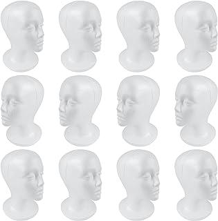 SHANY Cosmetics Styrofoam Model Heads/Hat Wig Foam Mannequin, 12 Count