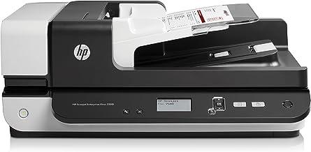 HP ScanJet Enterprise Flow 7500 Flatbed OCR Scanner (L2725B#BGJ) (Renewed)