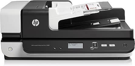 $959 » HP ScanJet Enterprise Flow 7500 Flatbed OCR Scanner (L2725B#BGJ) (Renewed)