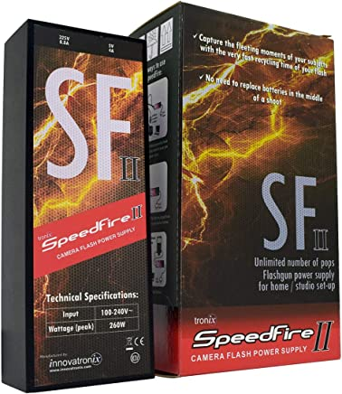 Innovatronix 1 Piece SpeedFire II - Power Pack for Canon...