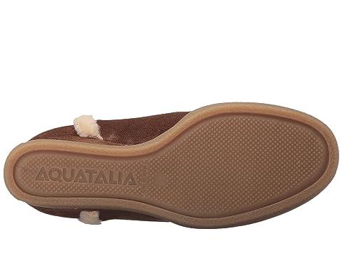 Aquatalia Charlie Black Pebbled Suede