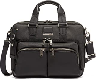 Alpha Bravo Albany Laptop Slim Commuter Brief Briefcase - 14 Inch Computer Bag for Men and Women - Graphite