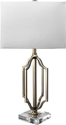 "nuLOOM Irving 32"" Brass Metal Table Lamp"