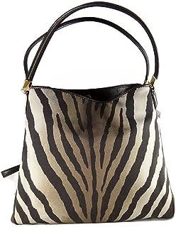 Coach Madison Phoebe Zebra Print Shoulder Bag 26636
