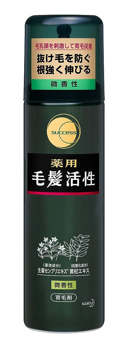 サクセス薬用毛髪活性 微香性/185g