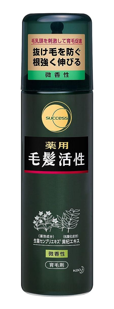 実験的招待歯科のサクセス薬用毛髪活性 微香性/185g