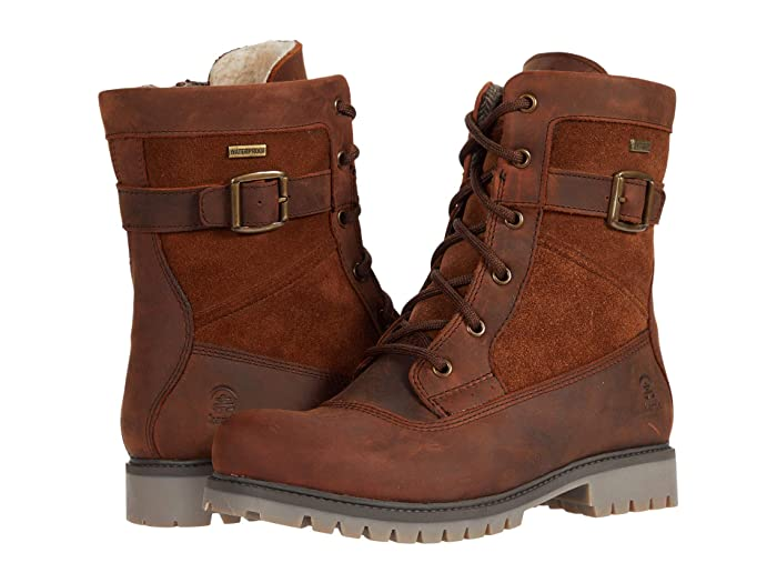 Vintage Boots, Retro Boots Kamik Rogue Mid Cognac Womens Boots $109.95 AT vintagedancer.com