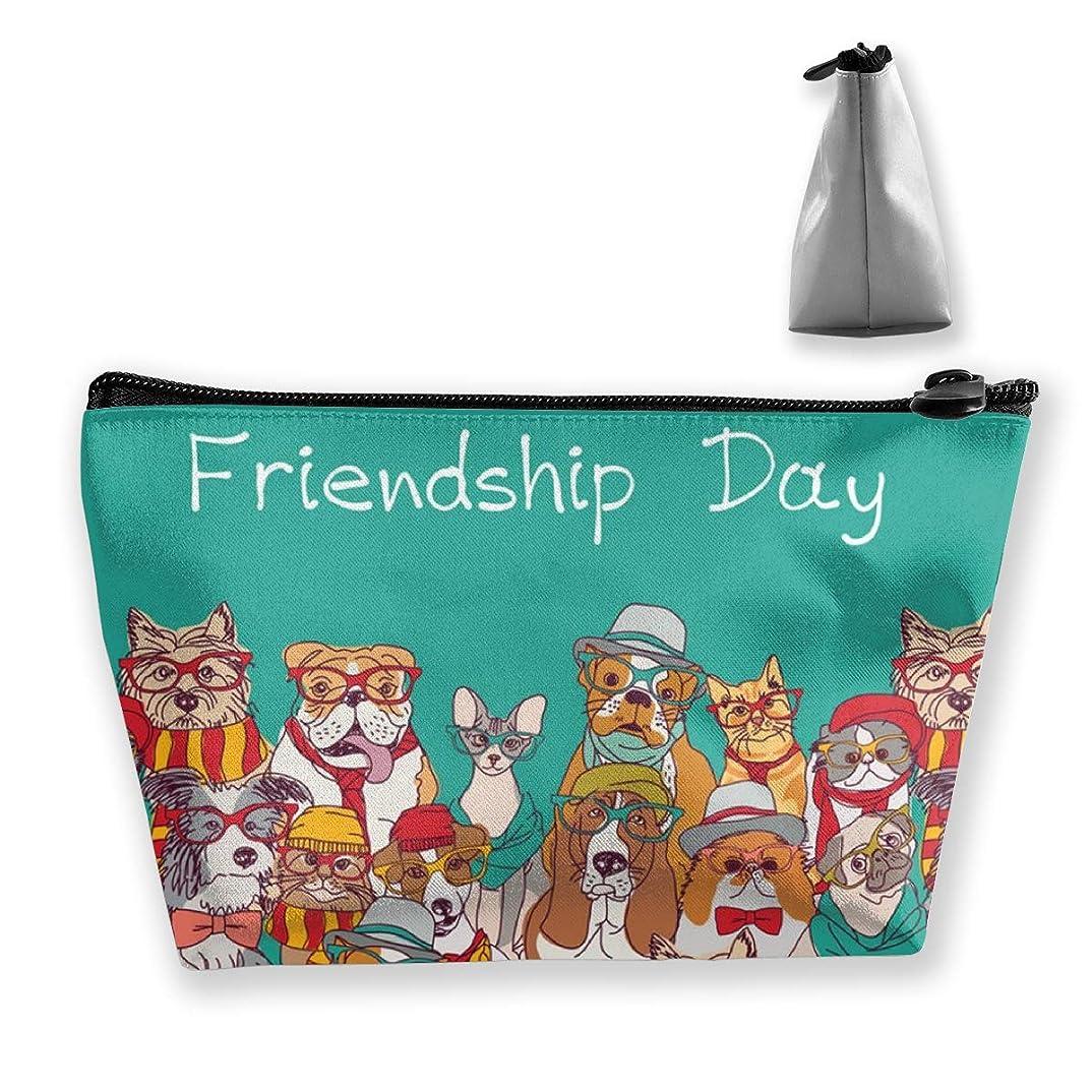 ランタンスイッチ偶然の動物の犬 ペンケース文房具バッグ大容量ペンケース化粧品袋収納袋男の子と女の子多機能浴室シャワーバッグ旅行ポータブルストレージバッグ