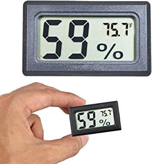 Mini Hygrometer Thermometer Digital Indoor Humidity Gauge Moisture Meter with Temperature Monitor Sensor Fahrenheit