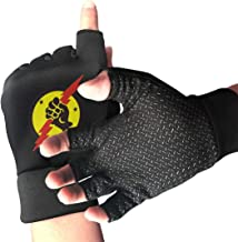 NUKMTAOER VFA-25 'Fist of The Fleet' Patch Gym Gloves Workout Gloves Rowing Gloves Exercise Gloves Cross Training for Men & Women