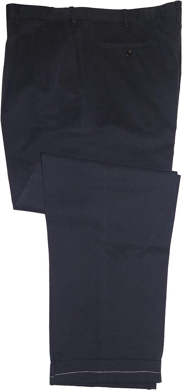 Brioni Men's Cervinia Navy Blue Cotton Casual Dress Pants 44