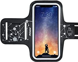 Mpow Running Armband for iPhone 11 Pro 11 Xr XS X 8 7 6 6S Samsung Galaxy S9 S8【Up to 6.1''】, Running Phone Armband with Running Headphone Slot and Key Slot for Running Exercise, Starry Sky Pattern